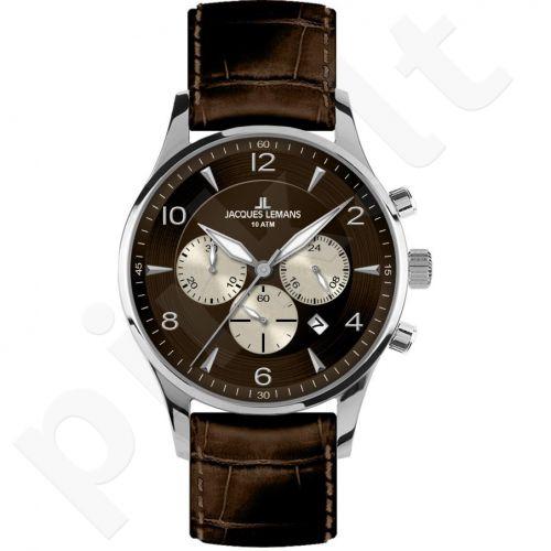 Vyriškas JACQUES LEMANS laikrodis 1-1654D