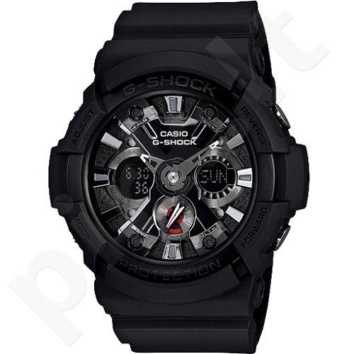 Casio G-Shock GA-201-1ADR vyriškas laikrodis-chronometras