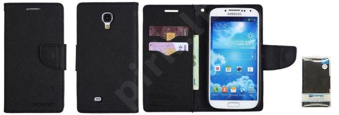 Samsung Galaxy S4 mini dėklas FANCY Mercury juodas