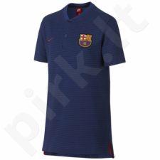Marškinėliai futbolui Nike FC Barcelona Modern Grand Slam Junior 869439-455