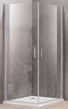 Dušo kabina P1222 90x90 skaidri be pado (tik stiklai)