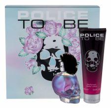Police Rose Blossom, To Be, rinkinys kvapusis vanduo moterims, (EDP 75 ml + kūno losjonas 100 ml)
