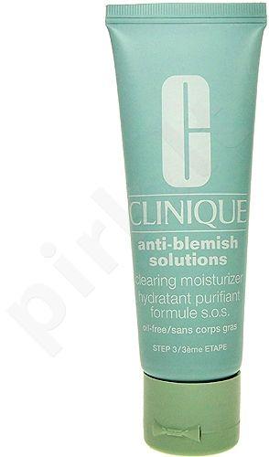Clinique Anti-Blemish Solutions, Formule SOS, dieninis kremas moterims, 50ml