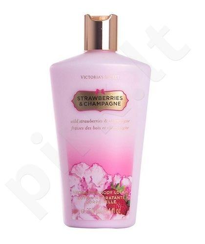 Victoria Secret Strawberries & Champagne, kūno losjonas moterims, 250ml