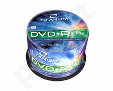DVD+R TITANUM [ cake box 50 | 4.7GB | 8x ]