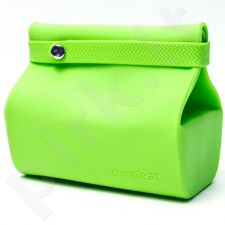 Silikoninis maišelis maistui FoodBag, žalias