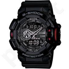 Casio G-Shock GA-400-1BDR vyriškas laikrodis-chronometras