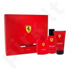 Ferrari Scuderia Ferrari Red rinkinys vyrams, (EDT 125 ml + dušo želė 150 ml + dezodorantas 150 ml)