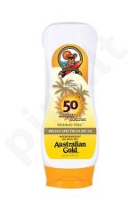 Australian Gold Sunscreen Lotion SPF50, kosmetika moterims, 237ml