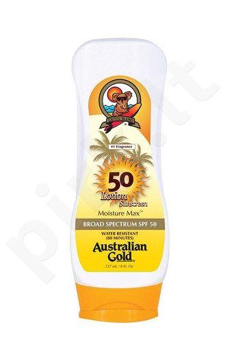 Australian Gold Sunscreen Lotion SPF50, kosmetika moterims, 237ml