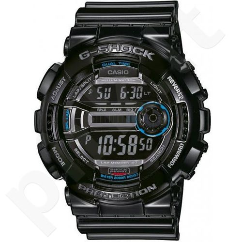 Casio G-Shock GD-110-1DR vyriškas laikrodis-chronometras