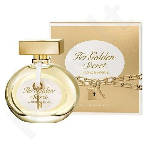Antonio Banderas Her Golden Secret, 80ml, tualetinis vanduo moterims
