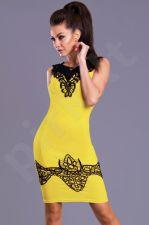 Emamoda suknelė - geltona 8102-4