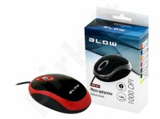 BLOW Optical mouse MP-20 USB red