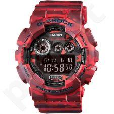 Casio G-Shock GD-120CM-4DR vyriškas laikrodis-chronometras