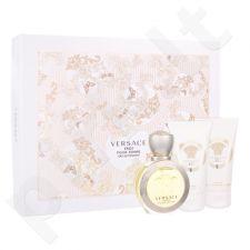 Versace Eros Pour Femme rinkinys moterims, (EDT 50 ml + kūno losjonas 50 ml + dušo želė 50 ml)