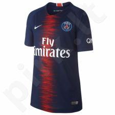 Marškinėliai futbolui Nike Breathe PSG Home Stadium Junior 894460-411