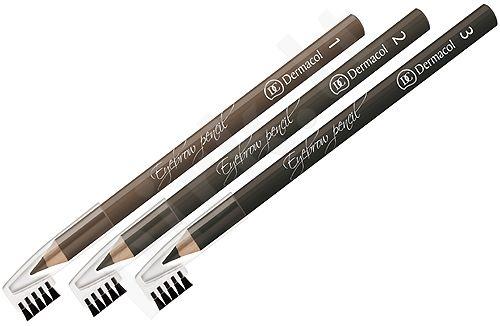 Dermacol Eyebrow, antakių kontūrų pieštukas moterims, 1,6g, (1)