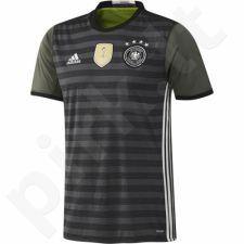 Marškinėliai futbolui Adidas Niemcy/Germany Replika Away Euro 2016 M AA0110