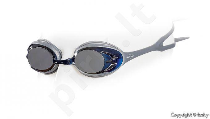 Plaukimo akiniai POWER MIRROR 4156 12 silver