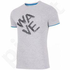 Marškinėliai 4f M H4L17-TSM019 pilkas