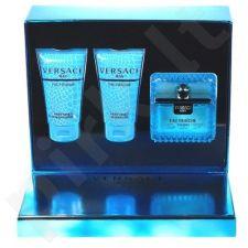 Versace (EDT 50 ml + 50 ml dušo želė + 50 ml šampūnas) Man Eau Fraiche, rinkinys vyrams