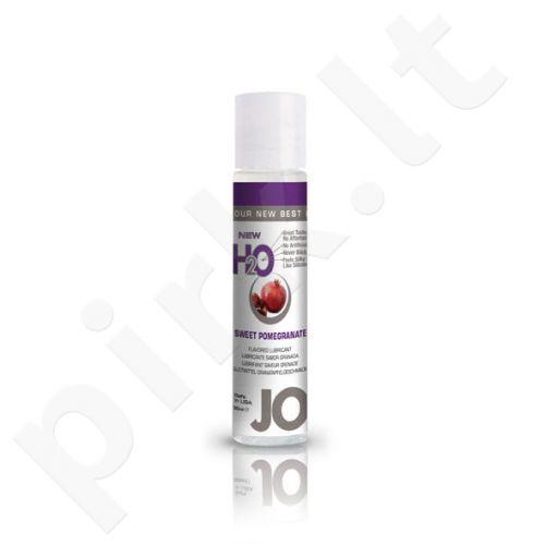 System JO - H2O lubrikantas Saldus granatas 30 ml