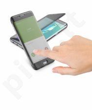 Samsung Galaxy S6 EDGE PLUS atverčiamas dėklas Touch Cellular juodas
