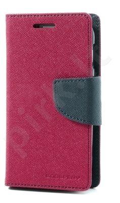 Samsung Galaxy A3 dėklas FANCY Mercury hot rožinis/mėlynas