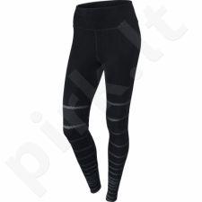 Sportinės kelnės damskie Nike Legend Tight Burnout Pant W 725082-010