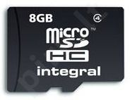 Integral MICRO SDHC 8GB CLASS4 - WITHOUT SD ADAPTER