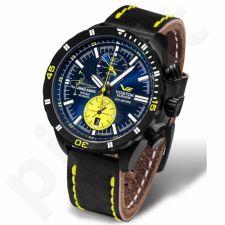 """Vyriškas laikrodis Vostok-Europe """"Pilot Jurgis Kairys. Unlimited Acrobatics"""" - Limituota serija - 6S11-320J362"""