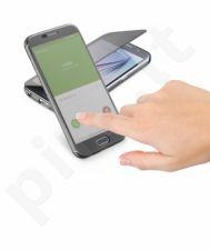 Samsung Galaxy S6 atverčiamas dėklas Touch Cellular juodas