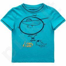 Marškinėliai 4f Kids J4L17-JTSM101 mėlyna
