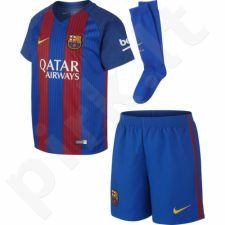 Komplektas futbolininkui Nike FC Barcelona Stadium Home Kids 776733-415