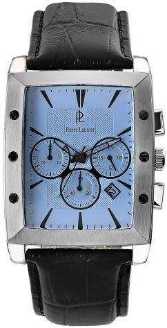 Laikrodis Pierre Lannier  ES    chronografasgrafase. S. steel / oda.    x  . 5 ATM