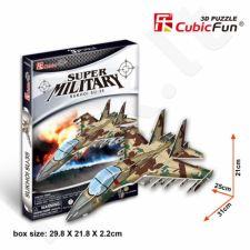 """3D dėlionė: lėktuvas """"Sukhoi Su-35"""""""