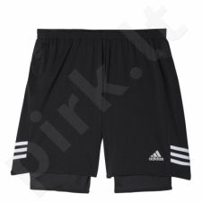 Bėgimo šortai Adidas Response Dual Shorts M AA8431