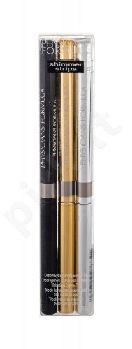 Physicians Formula Eyeliner Trio, Shimmer Strips, rinkinys akių kontūrų pieštukas moterims, (akių kontūrų pieštukas 3 x 0,85 g), (Smoky Nude)