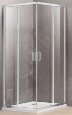Dušo kabina A1142 90x120 skaidri be pado (tik stiklai)