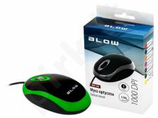 BLOW Optical mouse MP-20 USB green