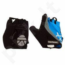 Pirštinės dviratininkams Meteor GEL BX-3 mėlynos