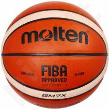 Krepšinio kamuolys training BGM7X FIBA sint. oda