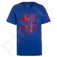 Marškinėliai Nike FCB Boys NK TEE CREST 2 Junior 885906-480