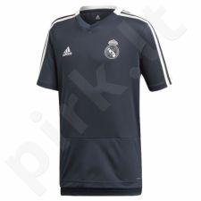 Marškinėliai futbolui Adidas Real Madryt Junior CW8647
