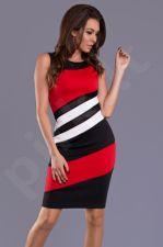 Emamoda suknelė - raudona 9102-2