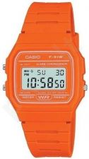 Laikrodis CASIO ORANGE  F-91WC-4AEF2