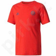 Marškinėliai adidas YB Bayern Munich Tee Junior CE8979