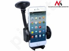 Maclean MC-660 Gooseneck Windscreen In Car Suction Mount Holder Cradle for Phone