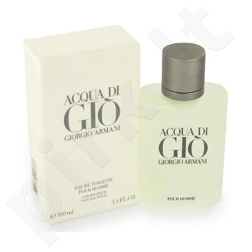 Giorgio Armani Acqua di Gio Pour Homme, tualetinis vanduo vyrams, 200ml
